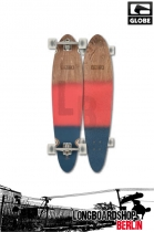 Globe Pinner Classic Red Navy Spray Longboard