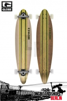 Globe Pinner Green/White Longboard