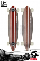 Globe Pinner White/red Longboard