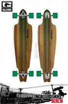 Globe Prowler Bamboo Longboard Clear Green