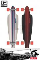Globe Prowler Cruiser Longboard White/Blue/Red