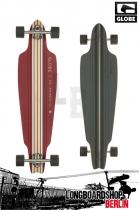 Globe Prowler Cruiser Longboard Maroon Black