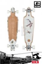 Globe Prowler Design Dark Maple/Outback komplett longboard