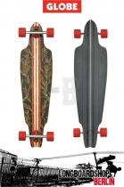 Globe Prowler Design Vintage Black/Thistle Komplett Longboard