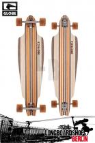 Globe Prowler V-Ply Natural Orange Longboard