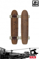 Globe The Plank Longboard Brown