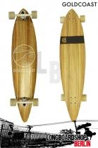 GoldCoast Classic Zebra Longboard Pintail Cruiser
