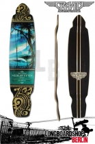 "Gravity Drop Kick 43"" Longboard Deck - Las Olas"