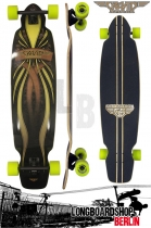 Gravity Longboard Komplett Mini Kick 40