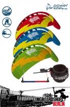 HQ Rush V Longboard-Kite Lenkmatte 300 RtF