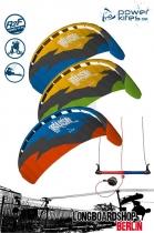 HQ Rush V Pro Longboardkite Lenkmatte 250 RtF