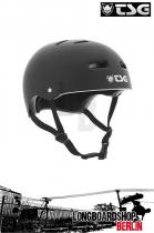 TSG Helm Skate/BMX Solid Colors Flat Black