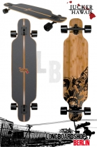 Jucker Hawaii Longboard Hoku Drop Thru komplett