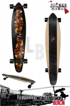 Jucker Hawaii Longboard Ka Pua Cruiser 117cm - SE Black