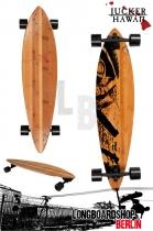 Jucker Hawaii Longboard Kanoa Pintail Cruiser 96,5cm