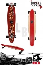 Jucker Hawaii Longboard Ka Pua Cruiser 117cm - Red