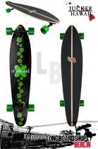 Jucker Hawaii Longboard Donator komplett