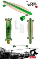 Jucker Hawaii Longboard Kahuna 2014 komplett
