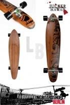 Jucker Hawaii Longboard Makaha 2014 Cruiser komplett