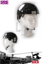 King Kong Helm BMX Skate - schwarz glanz