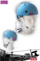 King Kong Helm BMX Skate - cyan matt