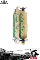 Krown Exotic Freestyle Longboard Bamboo 41""