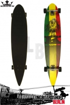 Krown Longboard Komplett Rasta City Surf Cruiser 43