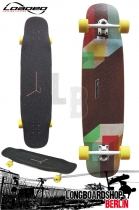 Loaded Tesseract Longboard 99cm Komplettboard