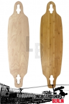 Longboard Deck Bamboo Drop Through 91cm