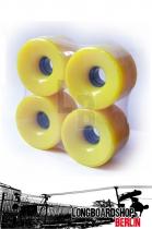Longboard Rollen 76mm 78a - Gelb