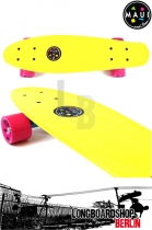 Maui & Sons Cookie Yellow Cruiser Board