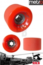 Metro Wheel Express Rollen 77mm 78a - Orange