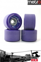 Metro Wheel Express Rollen 77mm 78a - Purple