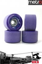 Metro Wheel Express Rollen 77mm 78a - Purple