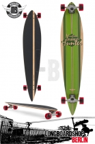 Mindless Hunter II Longboard Pintail Cruiser
