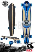 Mindless Marauder II Longboard Kicktail Cruiser
