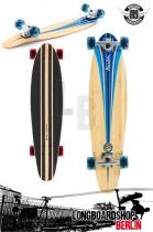 Mindless Raider III Blau Komplett Longboard