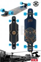 Mindless Raven II Blue komplett Longboard