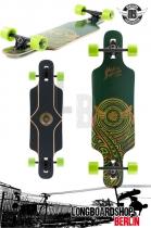 Mindless Raven II Grün komplett Longboard