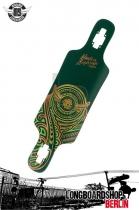 Mindless Raven II Green Longboard Deck