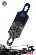 Mindless Raven II Blue Longboard Deck