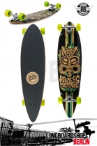 Mindless Tribal Rogue II Limited Edition Komplett Longboard Gree