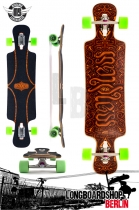 Mindless Voodoo Nyoka Flex 1 Longboard Drop Thru Carving Cruiser