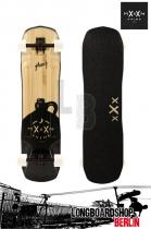 Moonshine Hooch Grip Longboard komplett