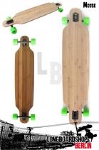 Moose Longboard Drop Thru Bamboo 107cm