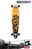 Ninetysixty Kickpin 2015 Cruiser Longboard 109cm Komplett