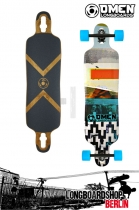 "Omen Abstract 41"" Komplett Longboard"