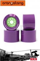 Orangatang Kegel Wheels 83a 80mm Set purple