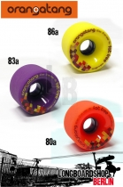 Orangatang Rollen Fat Free 65mm Set Wheels
