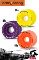 Orangatang Wheels 4 President 70mm Set Rollen